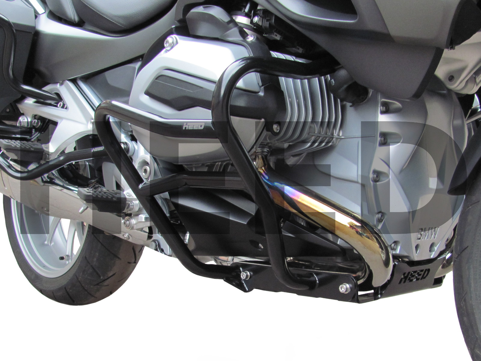 Sturzbügel Schutzbügel Heed BMW R 1200 RT LC Crash Bars Schwarz 2014-2018