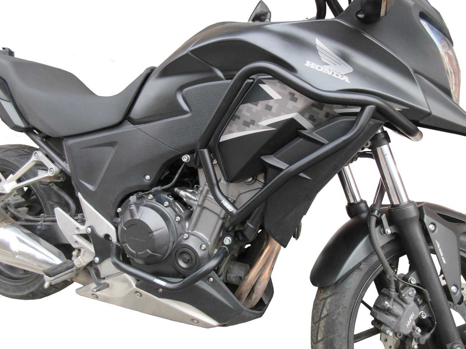 black Tamponi paratelaio per moto Protezione per paratelaio per la maggior parte dei modelli di moto per la copertura della cassa del paramotore