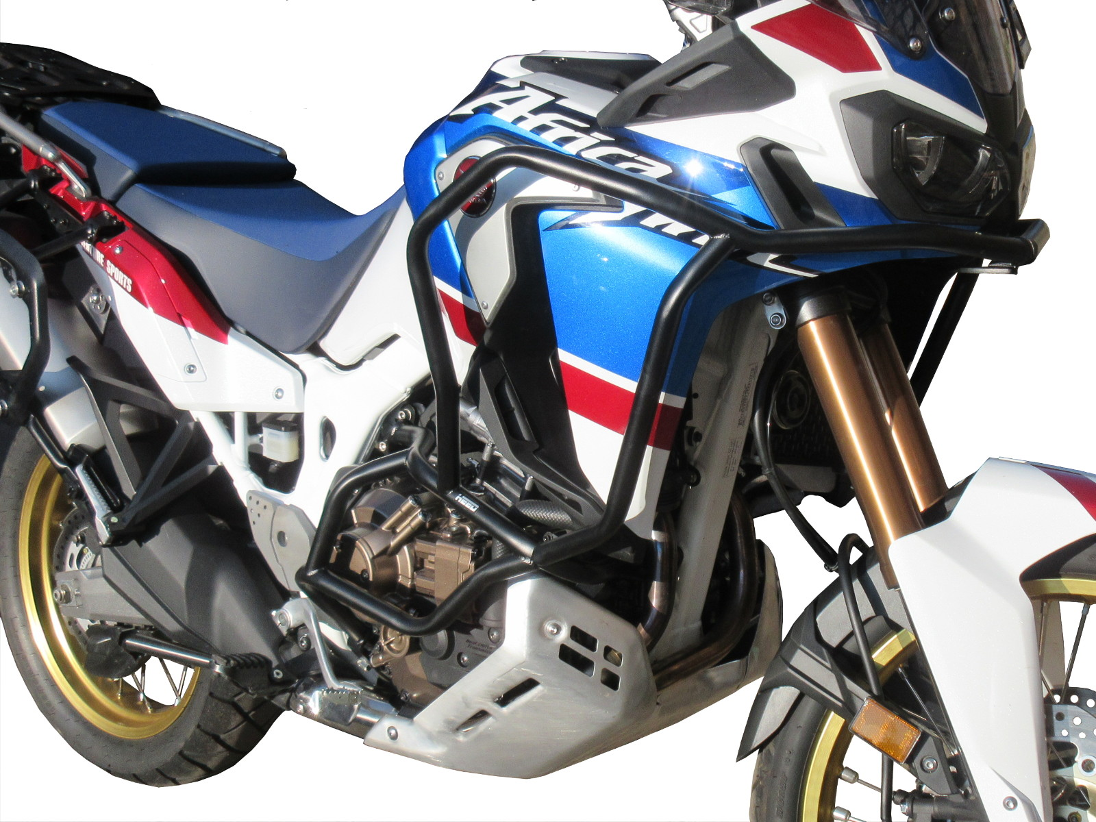 nero Bunker Paramotore HEED per CRF 1000 Africa Twin Adventure Sports